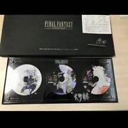 Limited Winning Items Final Fantasy Collection Display Case Ff4 Ff5 Ff6