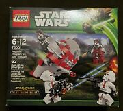 Lego Star Wars Republic Troopers Vs. Sith Troopers 75001 Battle Pack Retired New