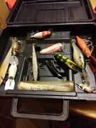 Old Tackle Box With Baits