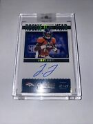 2020 Contenders Jerry Jeudy Rookie Of The Year Auto 42/49