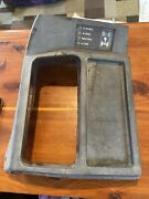 1984-1993 S10 Shifter Cover Counsel