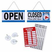 Business Hour Closed Open Sign – Bundle Of Office Hours Sign Will Return Clock