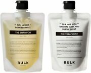 Bulk Homme The Shampoo And The Treatment Made 100 In Japan