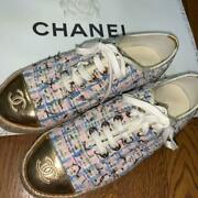 Sneaker Used Several Times Tweed Sold Out Immediately No.3930