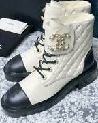 Lace-up Short Boots 38 From Japan Fedex No.4341