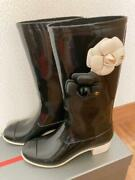 Rain Boots Size 37 From Japan Fedex No.4371