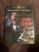Eye Of The Needle 1981 On Dvd Mgm 2000 W/ Insert Donald Sutherland Rare Oop