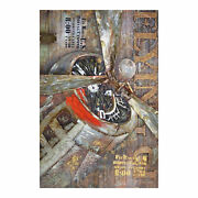 Moeand039s Home Industrial Flight Wall Decor Large With Multicolor Finish Fx-1117-37