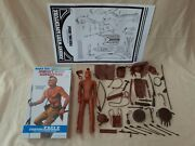 Marx Johnny West Fighting Eagle Indian Figure Complete W Repro Box And Equip. List