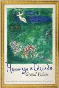 Specials Marc Chagall Original Lithograph Stone Print 1973 The Orchard Marc Ch