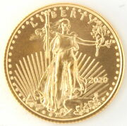 2020 1/10th Oz American Eagle 91.67 Gold Us Coin Philadelphia Mint Investment