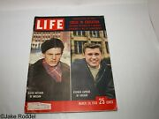 Vintage Life Magazine, Coke Ads - March 24,1958 -beer ,gm ,ford ,chevy, Coke