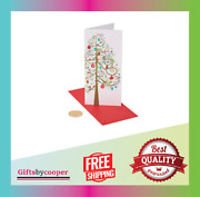 Papyrus Holiday Cards Boxed With Christmas Gift Card Holder Tree New