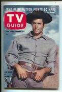 Tv Guide 11/21/1959-clint Walker, Cheyenne Cover And Story- Illinois Edition-no...