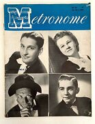 Vintage Metronome Magazine Lawrence Welk And Company May 1944