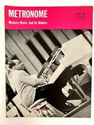 Vintage Metronome Music Magazine Count Basie Cover May 1943