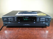 Koss Cdr200 Dual Tray Audio Cd-rw Compact Disc Recorder Player W/remote Works