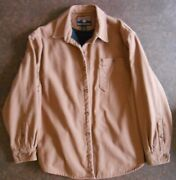 Duluth Trading Co. Size Xl Jacket Fire Hose Canvas Fleece Lined