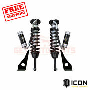 Icon Travel Remote Reservoir Front Coilover Shock Kit For Toyota 4runner 2003-09