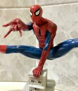 Spider-man Gold Premier Collection Statue Figure Marvel Rare From Japan F/s