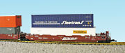 Usa Trains G Scale Intermodal 5 Unit Articulated Set R17160 Bnsf No Containers