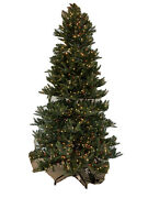 Balsam Hill Mariana Spruce Christmas Tree 9 Foot Color/clear Lights Open 1999 W