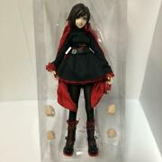 Threezero Rwby Ruby Rose Action Figure Doll 1/6 Scale From Japan Free Shipping
