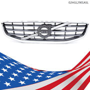 Abs Front Bumper Radiator Upper Grille Trim Fit For 2011 2012 2013 Volvo S60