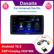 Dasaita For 2000-2020 1 Din 10.2and039and039 Android Car Radio And A Free Cb002 Canbus Cable