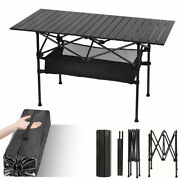 Folding Camping Tables Large Outdoor Party Bbq Picnic Table