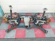 08-17 Audi A4 Awd Rear Suspension Assy Knuckle Hub Cradle Brakes And Carrier