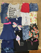 Large Lot Of Girls Clothes Size 10 12 6 Outfits Plus Jacket