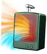 Space Heaters For Indoor Use, Energy Efficient Space Heater, 1000w Safe Green