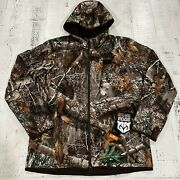 Under Armour Storm Brow Tine Realtree Camo Jacket Mens Large 1355316-991