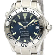 Polished Omega Seamaster Professional 300m Steel Mid Size Watch 2253.80 Bf534579