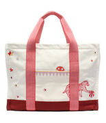 Hermes Tote Bag Mothers Circus Womenand039s Previously Owned Free Shipping No.5782