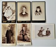Lot Antique 6pc Showalter Dietrich Reading Pa Family Photographs Henley