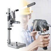 Electric Drill Press Bench Stand Holder Repair Workbench Pillar Double Clamp Hot