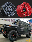 17 Inch Forged 4x4 Wheels Set - Usa Suv / Truck - Ford Chevrolet Dodge Gmc Jeep