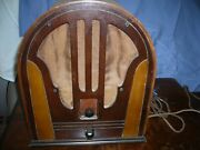Philco  Table Top Tube Radio Vintage Antique Untested Free Shipping
