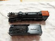 Vintage Dong Jin Models Brass Ho Scale 4-8-2 Locomotive With Tender. As Found.