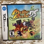 Monster Rancher Ds Nintendo Ds, 2010 Complete Cib Free Shipping