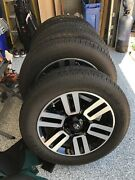 20-in. Split 6-spoke Alloy Wheels With P245/60r20 Tires, Used For 5,000 Miles