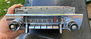 1956 Ford Town And Country Radio And Bezel Knobs Nice Condition 56