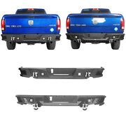 High Quality Rear Bumpers W/ Led Floodlights And D-rings For Dodge Ram 1500 09-18