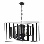 Moe's Home Industrial Chelsea Pendant Lamp With Black Finish Rm-1034-02