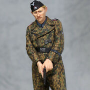 Mf23 1/35 Figure Ww2 German Army Waffen-ss Tank Soldier Non-commissioned Officer