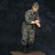 Mf12 1/35 Figure Ww2 German Army Waffen-ss Tank Soldier Non-commissioned Officer