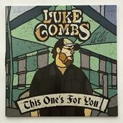 Luke Combs Signed Autograph Album Vinyl Record - This Oneand039s For You Country Jsa