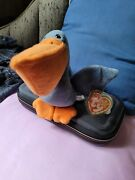 Ty Beanie Baby Scoop Pelican Excellent Condition W/tag Protector